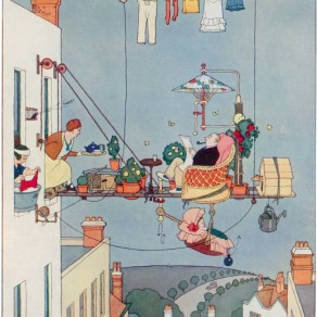 how-to-live-in-a-flat-1936-william-heath-robinson